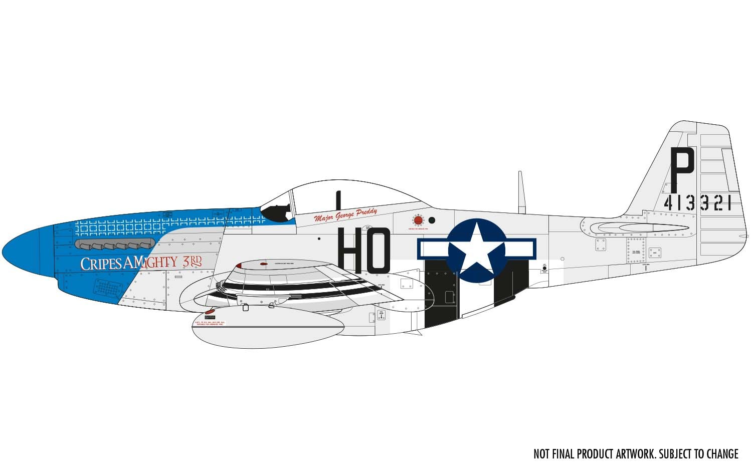 A05138 Airfix 1/48 North American P-51D Mustang