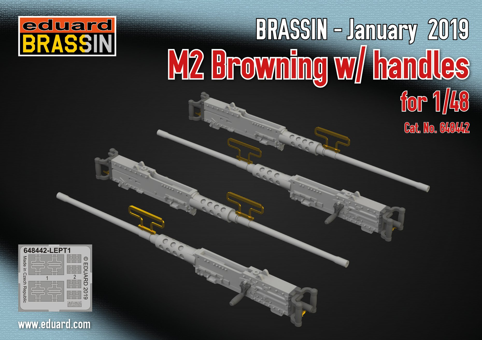 M2 Brownings w/handles 1/48 от фирмы Eduard