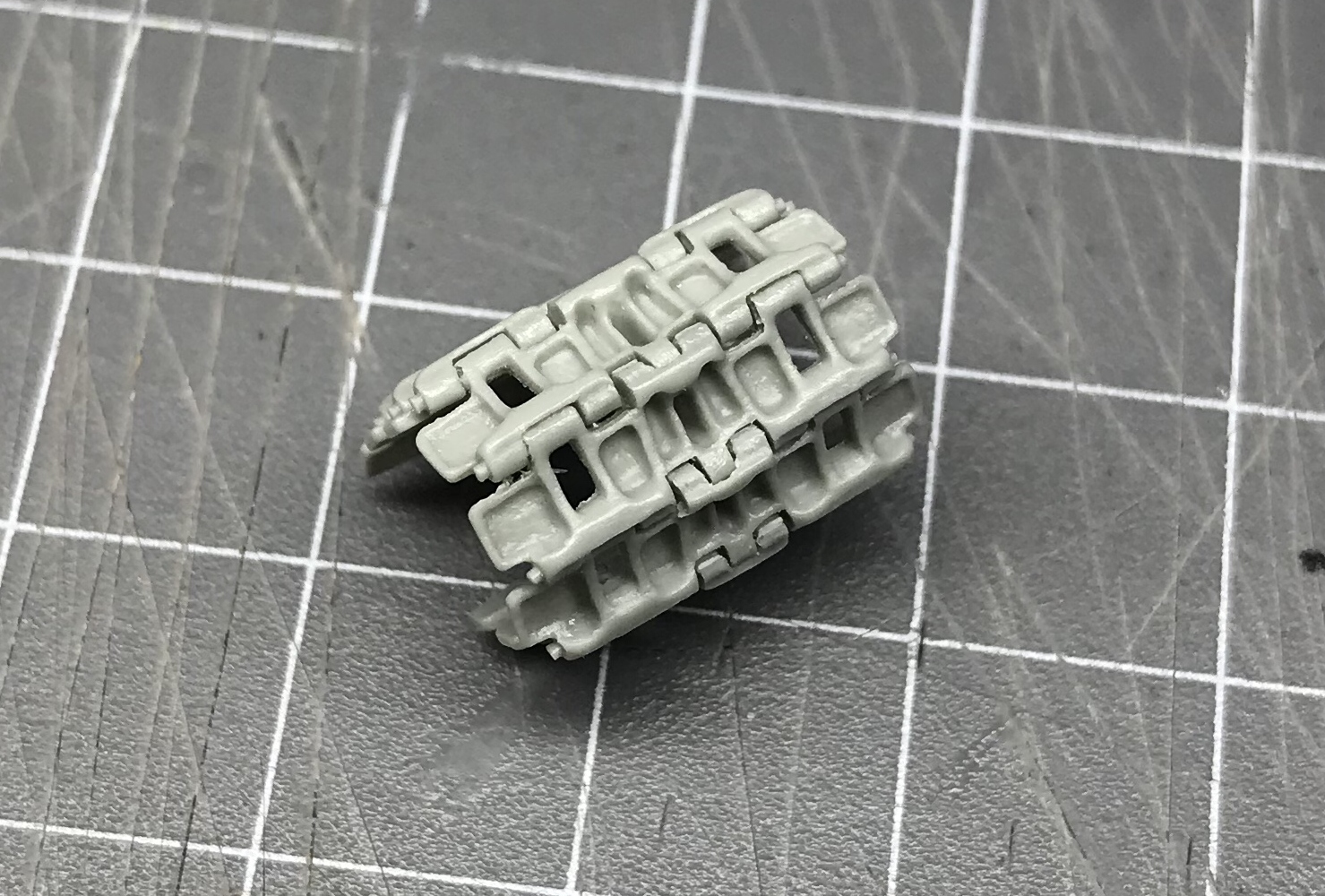 1/48 GTG Resin snap tracks for the KVI & II