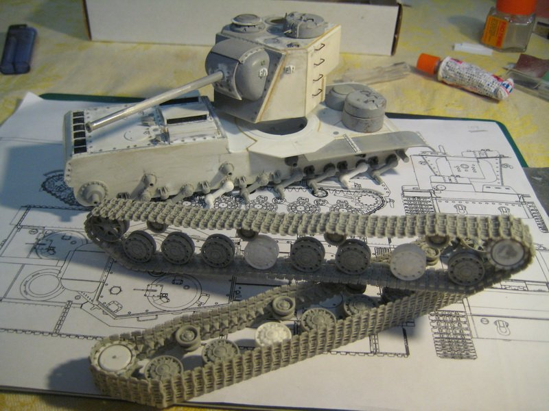 Как сделать гусеница для танка
