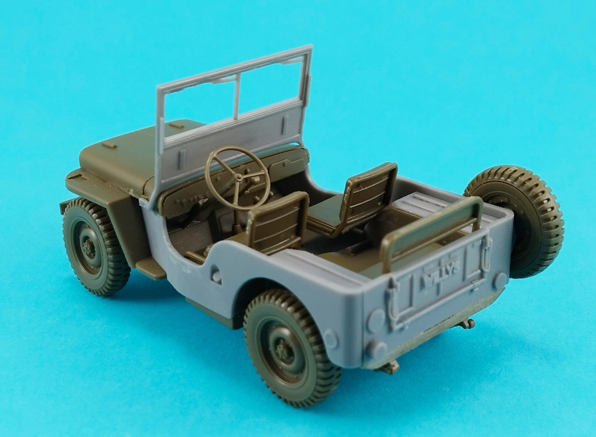48012 - conversion of Willys CJ2A 1/48
