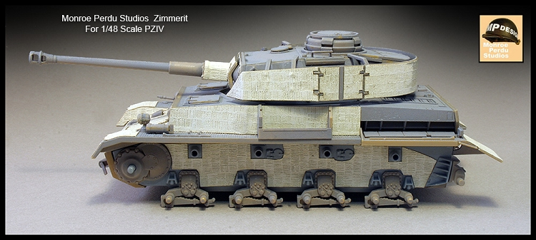 104 - 1/48 SCALE ZIMMERIT FOR PZ IV
