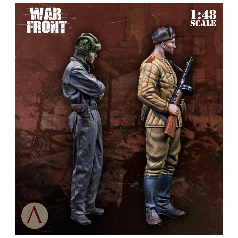 Scale75 SW48-008 - SOVIET TROOPS 1/48