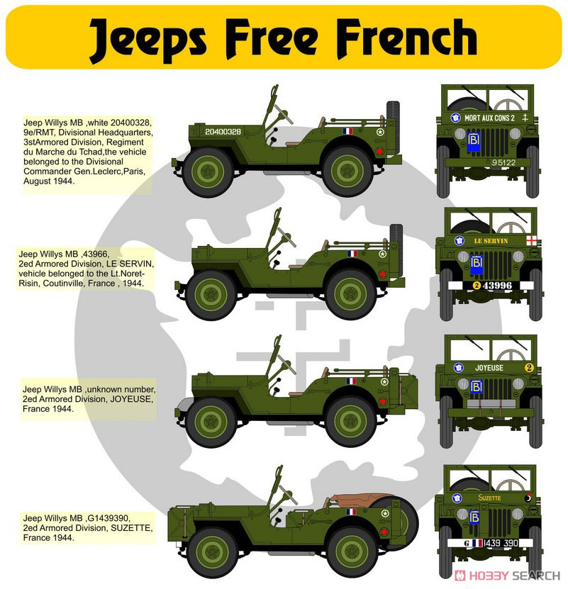 Willys MB от H-Models Decals