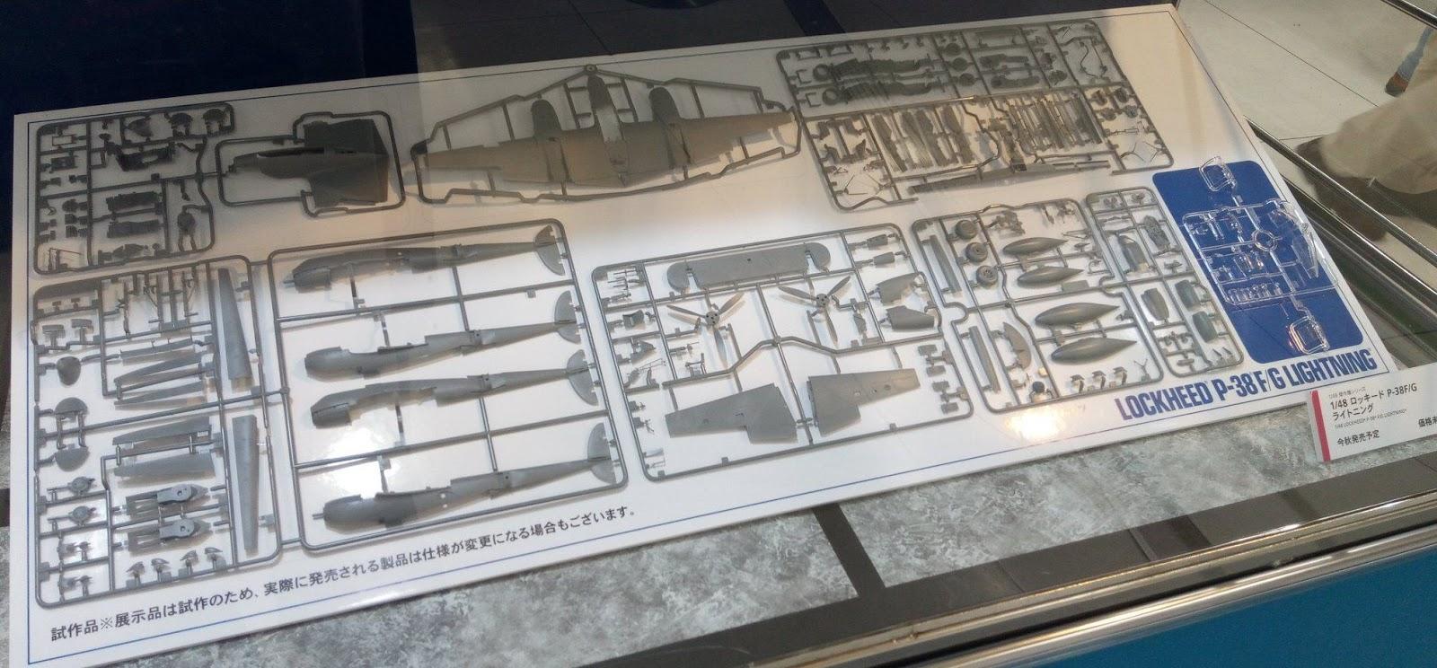 Tamiya 61120 P-38F/G