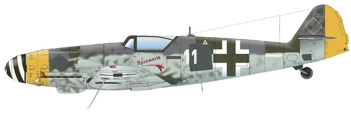 Bf-109G-10 WNF/Diana от фирмы Eduard