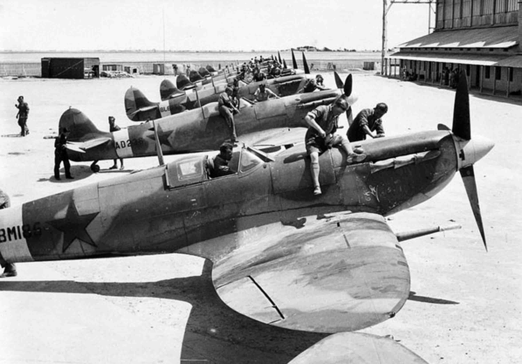 Spitfire_in_Iran_for_USSR